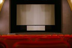 Cinema seats Stock Photo