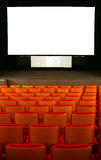 Cinema seats Royalty Free Stock Photography