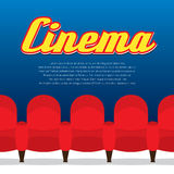 Cinema Seats Row Stock Photo