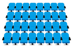 Cinema seats Royalty Free Stock Images