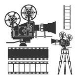 Cinema set Royalty Free Stock Photography