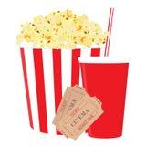 Cinema set Stock Photo