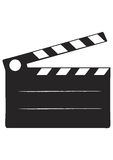 Cinema Slate. Vector Scalable Illustration Stock Image