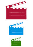 Cinema Slate. Vector Scalable Illustration Royalty Free Stock Photos