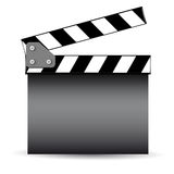 Cinema slate board Royalty Free Stock Images