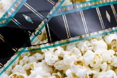 Cinema snack Stock Photo