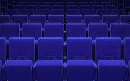 Cinema stage seats Stock Photo