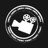 Cinema stamp Royalty Free Stock Photos