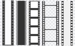 Free Cinema Strip Templates. Negative And Strip, Media Filmstrip. Film Roll Vector, Film 35mm, Slide Film Frame Royalty Free Stock Image - 169401496