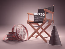Cinema Studio Stock Image
