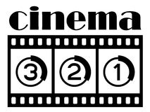 Cinema symbol Stock Images