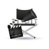 Cinema symbols Royalty Free Stock Photography
