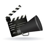 Cinema symbols Royalty Free Stock Image