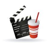 Cinema symbols Stock Photo