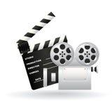 Cinema symbols Stock Image