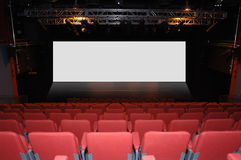 Cinema Theater Auditorium Stock Photography