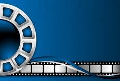 Cinema theme background. Cinema movie theme vector background Stock Photos