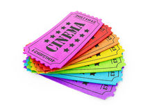 Cinema tickets Royalty Free Stock Image