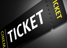 Cinema Tickets Royalty Free Stock Photos