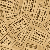 Cinema tickets. Royalty Free Stock Photo