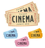 Cinema tickets Royalty Free Stock Photography