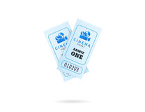 Cinema tickets Stock Images