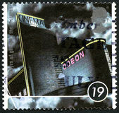 Cinema UK Postage Stamp Royalty Free Stock Images