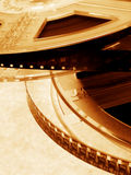 Cinema video. Film royalty free stock photos