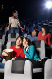 Cinema viewing Royalty Free Stock Image