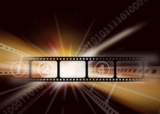 Cinema vintage background Royalty Free Stock Image