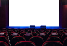 At the cinema Stock Images