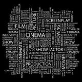CINEMA Royalty Free Stock Image
