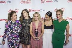 CinemaCon 2016 - τα μεγάλα βραβεία επίτευξης οθόνης Στοκ Εικόνες