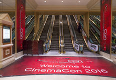 CinemaCon 2016 Stock Foto's