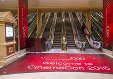 CinemaCon 2016 lizenzfreies stockbild