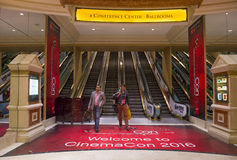 CinemaCon 2016 Royalty Free Stock Photo