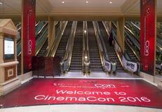 CinemaCon 2016 Stock Photos