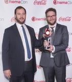 CinemaCon 2014 - les grands prix à la réussite d'écran images stock