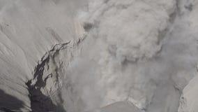 Cinemagraph de Gunung Bromo Volcano Crater no parque nacional de Bromo Tengger Semeru, East Java, Indonésia filme