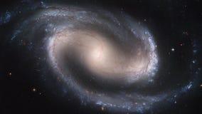 Cinemagraph för NASA 4K samling - gallerförsedd galax för NGC 1300 arkivfilmer