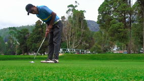 Cinemagraph of Playing Golf in Sri Lanka - 10 February 2017 stock video
