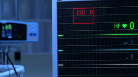 Cinemagraph sprawdza E puls C G monitor bez pulsu zbiory wideo