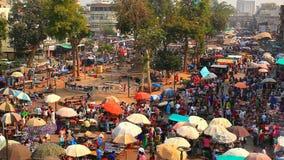 Cinemagraph: Uliczny rynek w Ahmedabad zbiory wideo