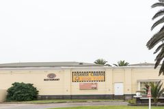 Cinemas in the Mermaid Casino and entertainment complex in Swako Royalty Free Stock Photography