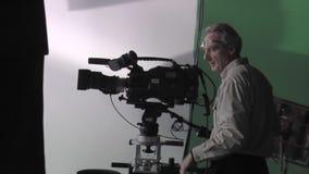 Cinematógrafo en el trabajo metrajes
