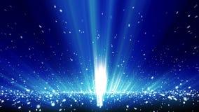 Cinematic Rays 1 stock video