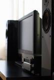 Cinematografo domestico immagine stock