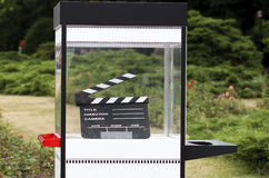 Cinematografo esterno Immagini Stock
