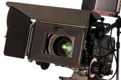 Cinematograph camera Stock Images