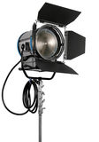 Cinematograph spotlight Royalty Free Stock Images